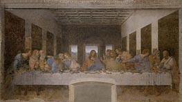 Leonardo da Vinci | Last Supper, c.1495/98 | Giclée Canvas Print