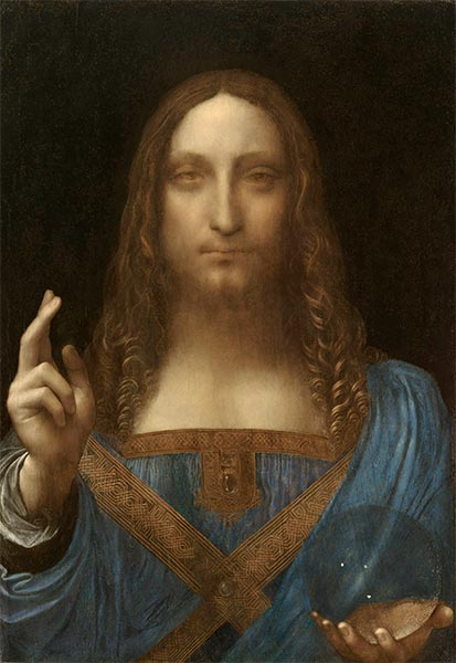 Salvator Mundi, c.1500 | Leonardo da Vinci | Painting Reproduction