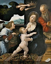 Bernaert van Orley | The Holy Family, 1522 | Giclée Canvas Print